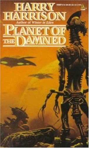 Large book cover: Planet of the Damned