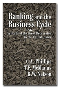Large book cover: Banking and the Business Cycle