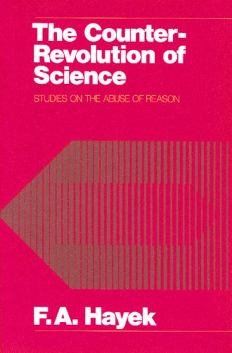 Large book cover: The Counter-Revolution of Science