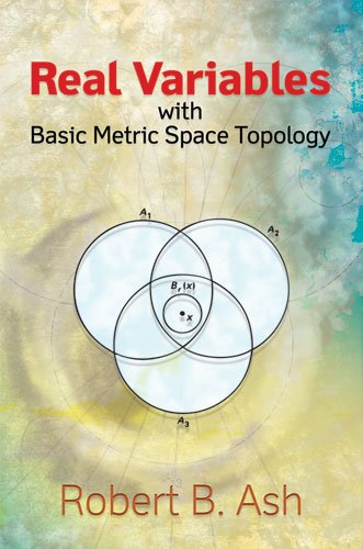 Large book cover: Real Variables: With Basic Metric Space Topology