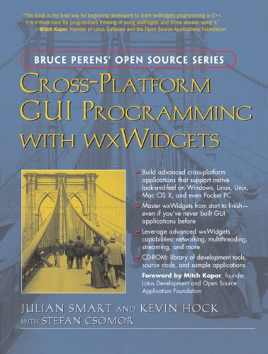 Large book cover: Cross-Platform GUI Programming with wxWidgets
