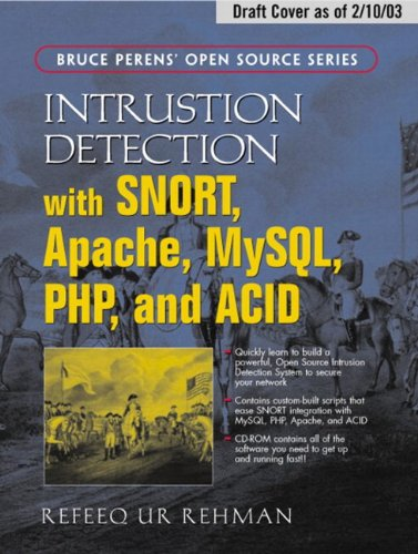Large book cover: Intrusion Detection with SNORT
