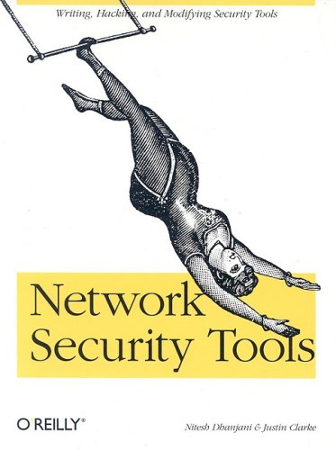 Large book cover: Network Security Tools