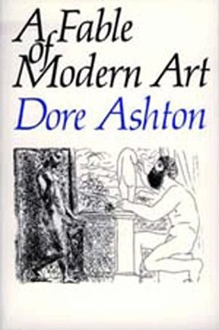 Large book cover: A Fable of Modern Art