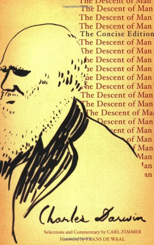 Large book cover: The Descent of Man