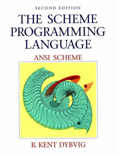 Large book cover: The Scheme Programming Language: ANSI Scheme