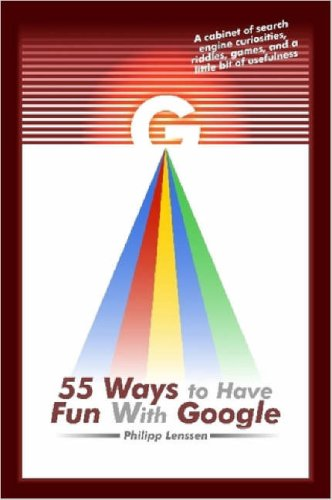 Large book cover: 55 Ways to Have Fun With Google