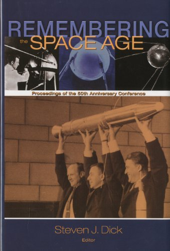 Large book cover: Remembering the Space Age