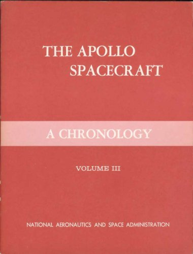 Large book cover: The Apollo Spacecraft: A Chronology