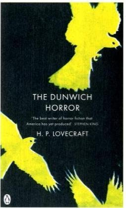 Large book cover: The Dunwich Horror