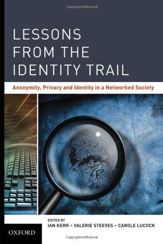 Large book cover: Lessons from the Identity Trail