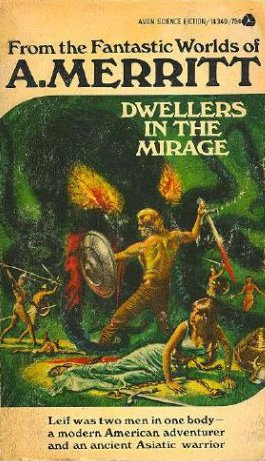 Large book cover: Dwellers in the Mirage