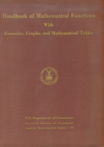 Large book cover: Handbook of Mathematical Functions