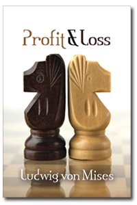 Large book cover: Profit and Loss