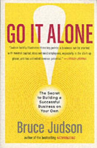 Large book cover: Go It Alone!