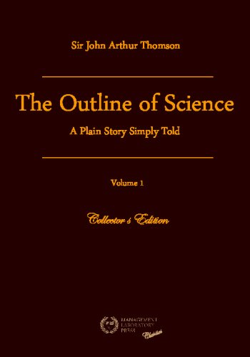 Large book cover: The Outline of Science, Vol. 1