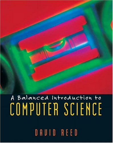 Large book cover: A Balanced Introduction to Computer Science
