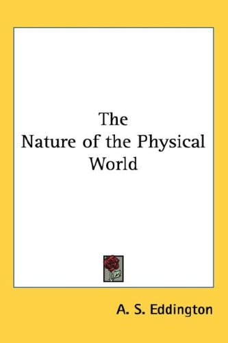 Large book cover: The Nature of the Physical World