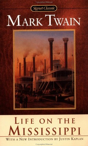 Large book cover: Life on the Mississippi