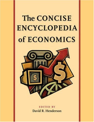 Large book cover: The Concise Encyclopedia of Economics