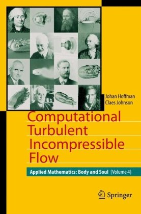 Large book cover: Computational Turbulent Incompressible Flow