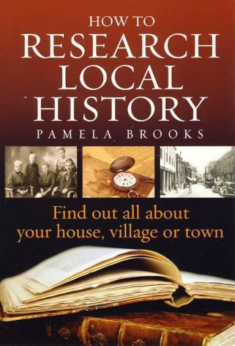 Large book cover: How to Research Local History