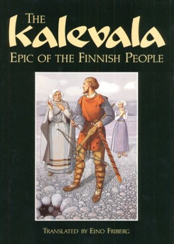 Large book cover: The Kalevala
