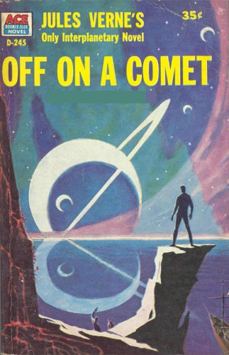 Large book cover: Off On A Comet, Or Hector Servadac