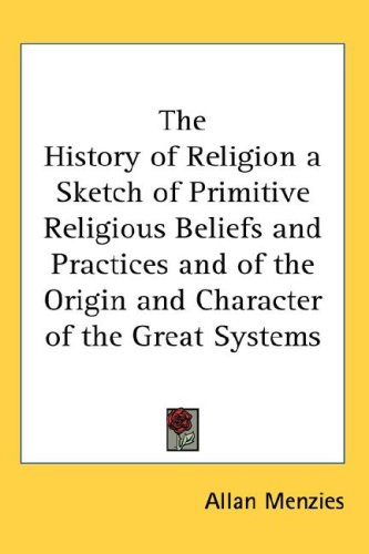 Large book cover: History of Religion