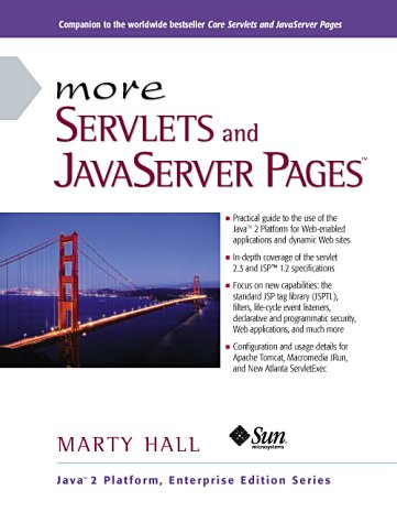 Large book cover: More Servlets and JavaServer Pages