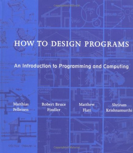 Large book cover: How to Design Programs: An Introduction to Programming and Computing