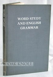 Large book cover: Word Study and English Grammar