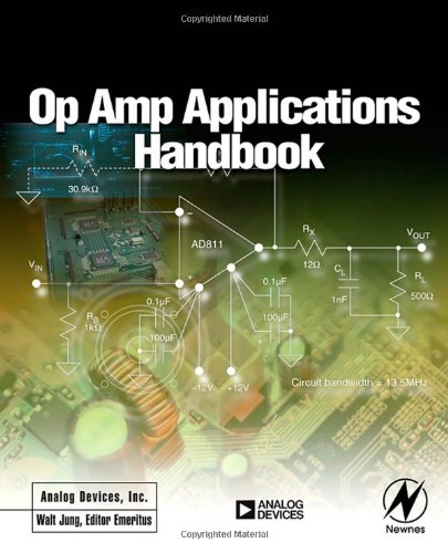 Large book cover: Op Amp Applications Handbook