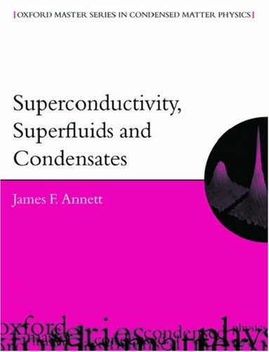 Large book cover: Superconductivity, Superfluids, and Condensates