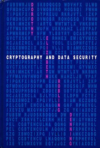 Large book cover: Cryptography and Data Security
