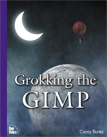 Large book cover: Grokking the GIMP