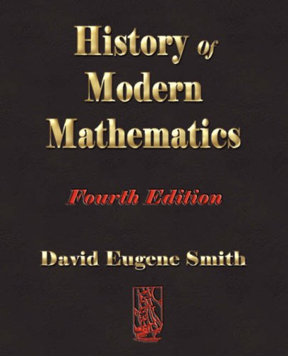 Large book cover: History of Modern Mathematics