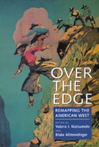 Large book cover: Over the Edge: Remapping the American West