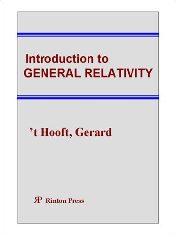 Large book cover: Introduction to General Relativity