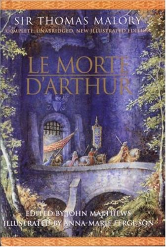 Large book cover: Le Morte D'Arthur