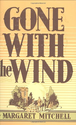 Large book cover: Gone with the Wind