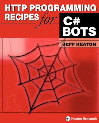 Large book cover: HTTP Programming Recipes for C# Bots