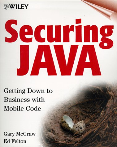Large book cover: Securing Java: Getting Down to Business with Mobile Code