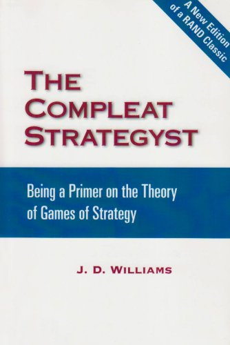 Large book cover: The Compleat Strategyst: Being a Primer on the Theory of Games of Strategy