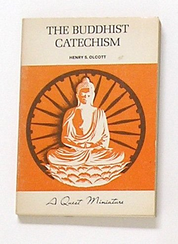 Large book cover: The Buddhist Catechism