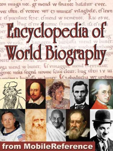 Large book cover: Encyclopedia of World Biography