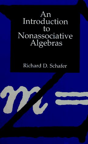 Large book cover: An Introduction to Nonassociative Algebras
