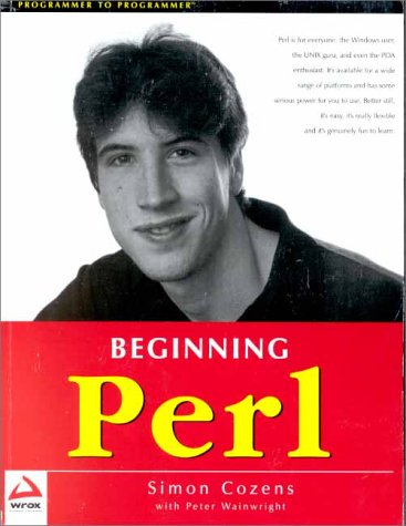 Large book cover: Beginning Perl