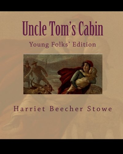 Large book cover: Uncle Tom's Cabin