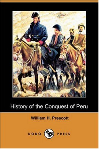 Large book cover: The History of the Conquest of Peru